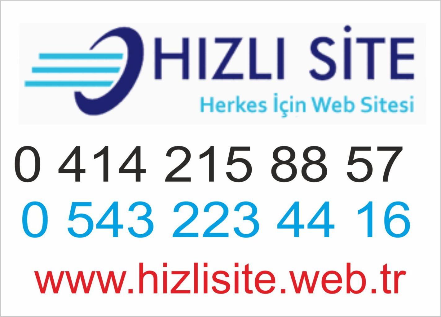 Hızlı Web Site – 0414 215 88 57