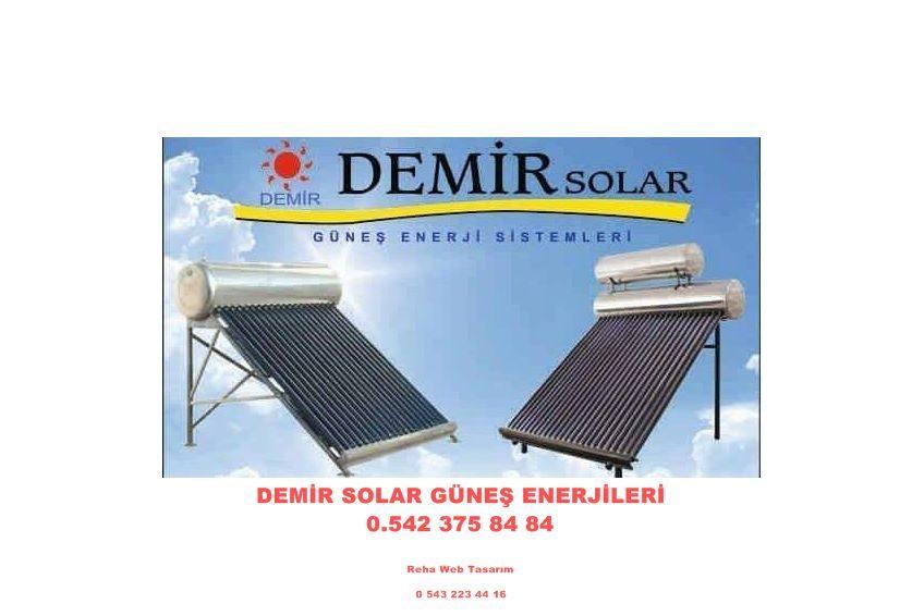Demir solar fiyatları